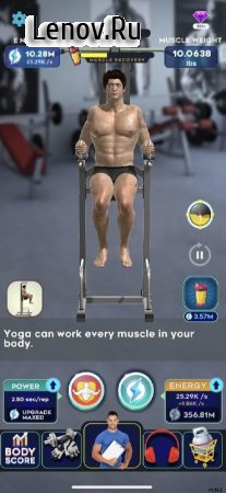 Idle Workout ! v 1.22 Mod (Free shopping with real money)
