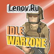 Idle Warzone 3d: Military Game - Army Tycoon v 1.2 Mod (Unlimited Money/Diamonds)
