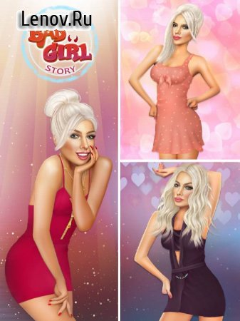 Bad Girl - Romantic Story Love Game v 1.7-googleplay Mod (A Lot Of Key/Diamond)
