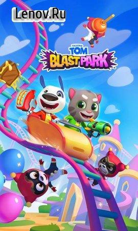 Talking Tom Blast Park: The New Blasting Adventure v 1.0.2.164 (Mod Money)