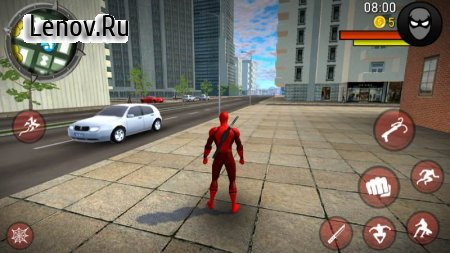 POWER SPIDER - Ultimate Superhero Game v 2.0 Mod (Unlimited gold coins)