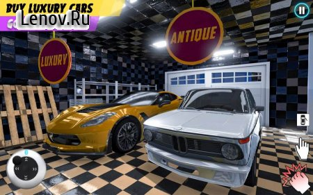PC Cafe Business simulator 2020 v 1.7 Mod (A lot of banknotes)