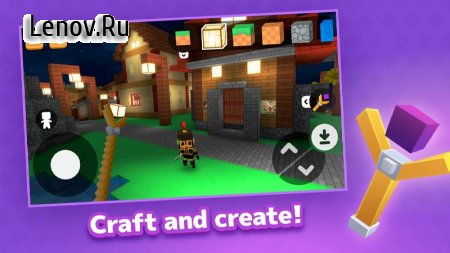 Crafty Lands - Craft, Build and Explore Worlds v 2.5.8 Mod (Unlocked)