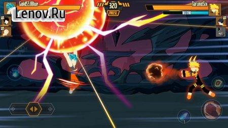 Stickman Dragon Fight - Super Stick Warriors v 1.1.4 Mod (Free Shopping)