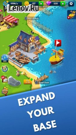Idle Pirate Tycoon v 1.0.2 Mod (Unlimited Money)