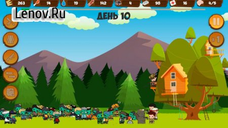 Zombie Forest HD: Survival v 1.32 Mod (Hero high level)