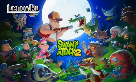 Swamp Attack 2 v 1.0.2.138 (Mod Money/God)