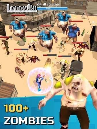 Zombie games - Zombie run & shooting zombies v 1.0.12 Mod (Unlimited Gold/Diamonds/Energy/Resources)