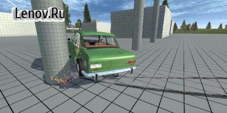 Simple Car Crash Physics Simulator Demo v 2.2 Мод (полная версия)
