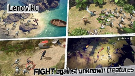 LOST in Blue: Survive the Zombie Islands v 1.29.3 Мод (полная версия)