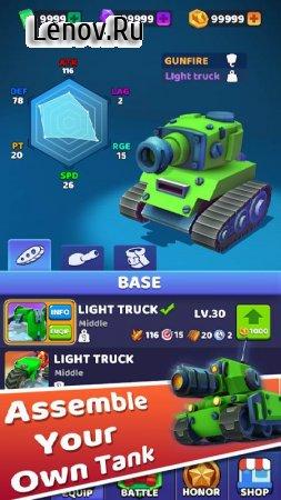 Tank Royale-Online IO howling Tank battle game v 1.1.4 Mod (Unlimited Gems)