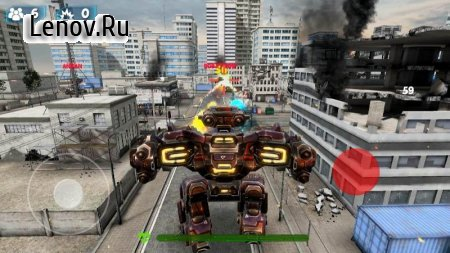 Destructive Robots - FPS (First Person) Robot Wars v 9 Mod (No ads)