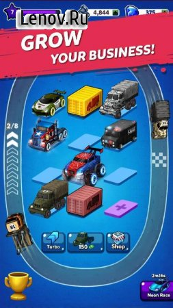 Merge Truck: Monster Truck Evolution Merger game v 2.0.18 (Mod Money)