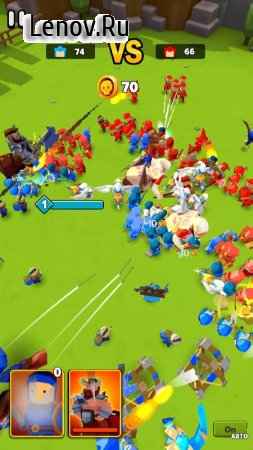 Legion Clash: World Conquest v 0.6.2 Mod (The battle is 2 times faster)