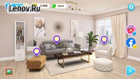 Color Home Design Makeover - paint your love story v 1.11 (Mod Money)
