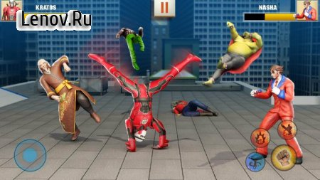 Ninja Superhero Fighting Games: City Kung Fu Fight v 7.1.9 Mod (The enemy will not attack)