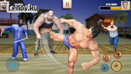 Ninja Superhero Fighting Games: City Kung Fu Fight v 7.1.4 Mod (The enemy will not attack)