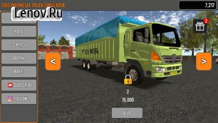 IDBS Indonesia Truck Simulator v 4.1 (Mod Money)