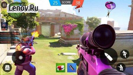 Cover Hunter - 3v3 Team Battle v 1.6.0 Mod (Enemies will not attack/A lot of diamonds)