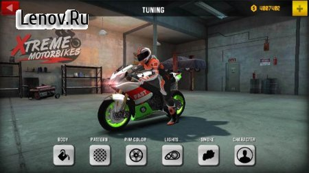 Xtreme Motorbikes v 1.3 Mod (Gold coins)