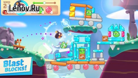 Angry Birds Journey v 1.0.2 Mod (Endless lives)