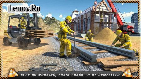 Train Track Construction Simulator: Rail Game 2020 v 1.0 Mod (Unlocked)