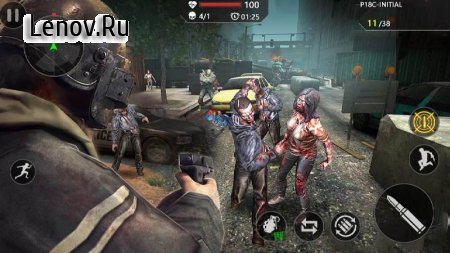 Dead Zombie Trigger 3: Real Survival Shooting- FPS v 1.1.1 Mod (Lots of banknotes/grenades/medical boxes)