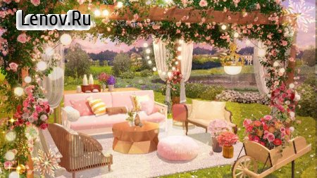 My Home Design : Garden Life v 0.3.1 Mod (Many lives)
