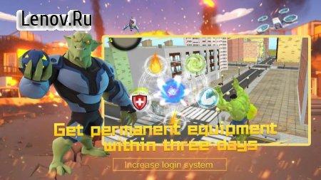 Super City Hero:Crime City Battle v 6.0 Mod (A lot of gold coins)