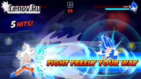 Stickman Battle Fight v 2.0 Mod (A lot of gold coins)