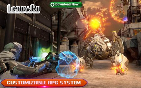 Sci-Fi Cover Fire – 3D Offline Shooting Games v 1.0 Mod (Unlocked all levels/weapons)