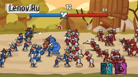 Stick Wars 2: Battle of Legions v 1.2.0 (Mod Money)