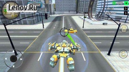 Super Crime Steel War Hero Iron Flying Mech Robot v 1.2.2 Mod (Free Shopping)