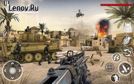 Commando Assassin Strike:World War Pacific Shooter v 4.1 Mod (God mode/Stupid enemy)