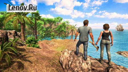 Survival Games Offline free: Island Survival Games v 1.27 Mod (Get rewards without watching ads)