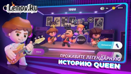 Queen: Rock Tour - The Official Rhythm Game v 1.1.2 Mod (Premium)