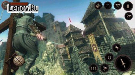 Ninja Samurai Assassin Hunter: Creed Hero fighter v 1.0.7 Mod (A lot of gold coins)