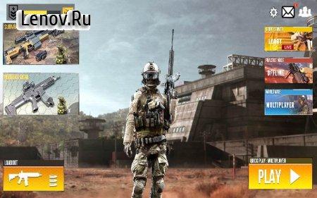 Real Commando Action Shooting: Free Secret Mission v 1.1 (Mod Money)