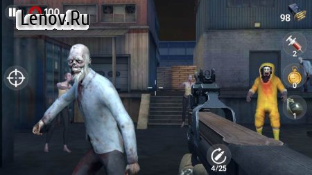 Dead Fire: Zombie shooting v 1.1.5 Mod (Free Shopping)