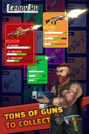 Zombie Defender: Idle TD & Mow zombies v 1.0.7 Mod (Unlimited Gold/Gems/Chips)