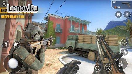 FPS Cover Strike 2020:New Shooting games Offline v 2.1 Mod (God mode/Gumb enemy)