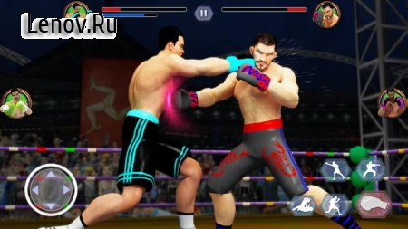 Tag Team Boxing Game: Kickboxing Fighting Games v 2.6 (Mod Money)