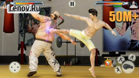 GYM Fighting Games: Bodybuilder Trainer Fight PRO v 1.5.2 Mod (A lot of gold coins)