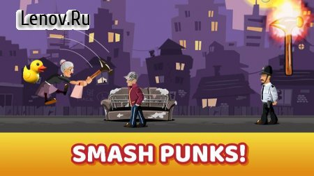 Angry Granny Smash! v 2.0.2.10 (Mod Money)