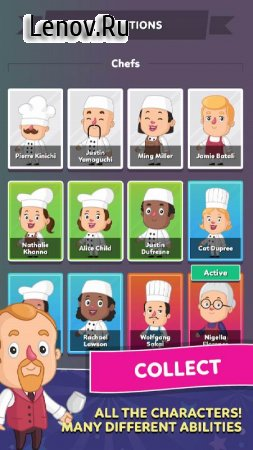 Idle Restaurant Empire - Cooking Tycoon Simulator v 12.260321.24 (Mod Money)