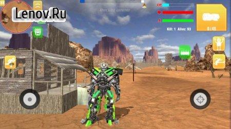 Robot War Free Fire - Survival battleground Squad v 1.0 Mod (Unlimited energy/bullets)