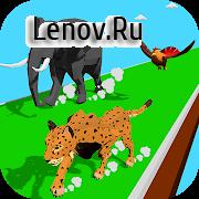 Animal Transform Race - Epic Race 3D v 0.7.1 Mod (Do not watch ads to get rewards)