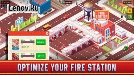 Idle Firefighter Empire Tycoon - Management Game v 0.9.3 (Mod Money)