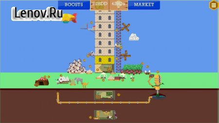 Idle Tower Builder: construction tycoon manager v 1.2.2 Mod (Unlocked)