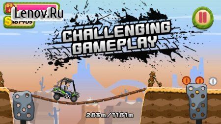 Hill Racing – Offroad Hill Adventure game v 1.1 Mod (Unlocked/Free Shopping)